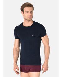 Emporio Armani Blue Lounge T-shirt for men