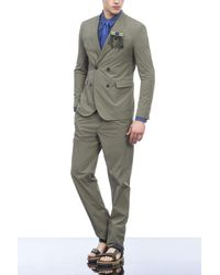 Emporio Armani | Green Pant for Men | Lyst