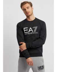 Emporio Armani Black Sweatshirt for men