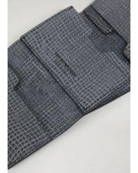Emporio Armani Black Card Holder for men