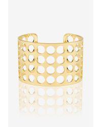 Arme De L'Amour | Metallic Large Dot Bracelet | Lyst