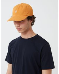 Norse Projects Orange Sports Cap (cotton Twill) for men