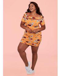 Ashley Stewart - Orange The Laura Dress - Lyst