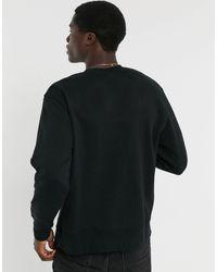 Черный Свитшот Topman для него, цвет: Black