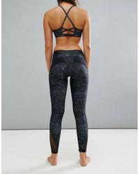 Onzie Multicolor Night Sky Printed Yoga Leggings