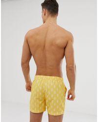 Шорты Для Плавания С Принтом Мороженого Recycled-желтый South Beach для него, цвет: Multicolor