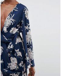 Keepsake Blue No Limits Kimono Dress