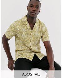 Camisa ASOS de hombre de color Multicolor