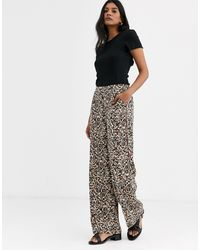 ONLY Multicolor Palazzo Pants-multi