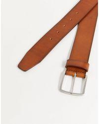 Sjeeko - Cintura elegante color cuoio di BOSS by Hugo Boss in Multicolor da Uomo