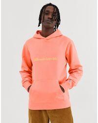 Jersey con capucha en naranja con logo bordado BBCICECREAM de hombre de color Orange