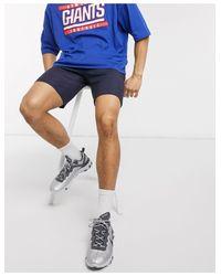 Topman Blue Skinny Chino Shorts for men