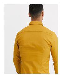 New Look – Oxford-Hemd in Yellow für Herren