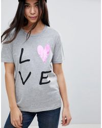 B.Young - Multicolor Love Print T-shirt - Lyst