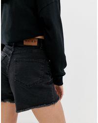 Pantalones cortos vaqueros NA-KD de color Black