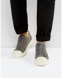 KG by Kurt Geiger Kg By Kurt Geiger Lo Sneakers In Gray Suede for men