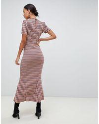 Vestido largo ASOS de color Multicolor