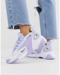 Zoom 2K - Baskets - Lilas Cuir Nike en coloris Violet - Lyst