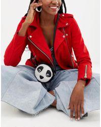 Yoki Fashion Multicolor Geldbörse mit Pandadesign