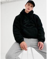 Hoodie imitation peau de mouton - Noir Sex Skateboards pour homme en coloris Black