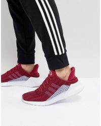 Adidas Originals Climacool 02/17 Sneakers In Red Bz0247 for men