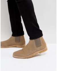 Kurt Geiger Multicolor Syd Suede Chelsea Boots for men