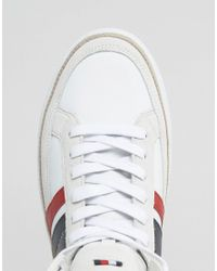 Tommy Hilfiger - White Maze High Top Sneakers for Men - Lyst