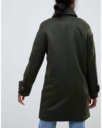 ASOS Green Asos Design Tall Coat