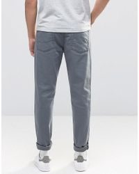 ASOS Asos Skinny Jeans In Gray for men
