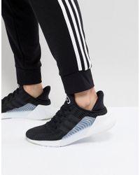 Adidas Originals Climacool 02/17 Trainers In Black Bz0249 for men