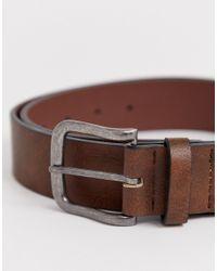 Cintura per jeans di New Look in Brown da Uomo