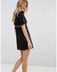 Millie Mackintosh Black Farley Mini Dress