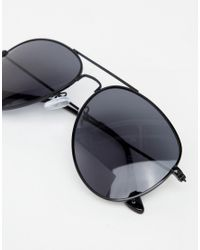 A.J. Morgan - Black Aviator Sunglasses - Lyst