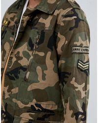 AX Paris Green Camo Jacket