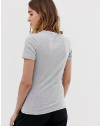 T-shirt a coste - di Pieces in Gray