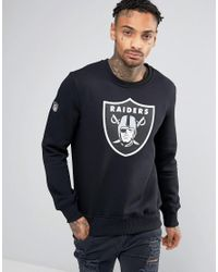 KTZ - Black Oakland Raiders Sweatshirt for Men - Lyst