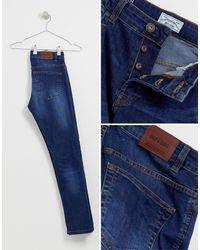 Only & Sons – Enge Jeans in Blue für Herren