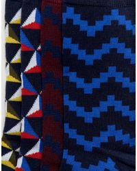 Jack & Jones - Blue 4 Pack Socks for Men - Lyst