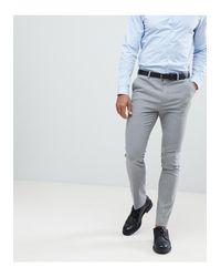 New Look – Elegante, enge Hose in Gray für Herren