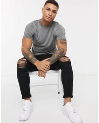 T-shirt di New Look in Gray da Uomo