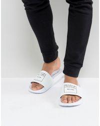 Ben Sherman | White Slider Sandals | Lyst