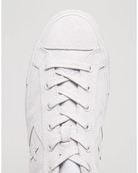 Converse Star Player Sneakers In White 155404c for men