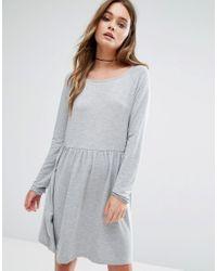 Vila Gray Smock Dress