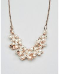 Coast | Pink Pearl Necklace | Lyst