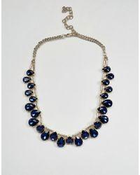 Coast | Blue Antiparos Necklace | Lyst