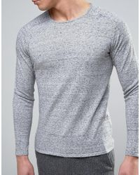 Jack & Jones - Gray Premium Sweater for Men - Lyst