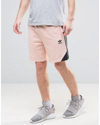3144dd9095 Adidas Originals Ornamental Block Shorts With Printed Panel Cf5316 ...