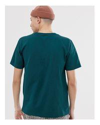 Calvin Klein Jeans – Baumwoll-T-Shirt in Green für Herren