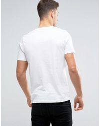 Produkt - White T-shirt With Box Logo for Men - Lyst