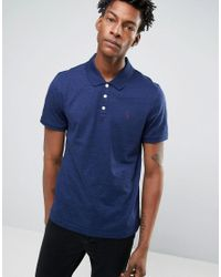 Original Penguin | Blue Slim Fit Polo Shirt for Men | Lyst